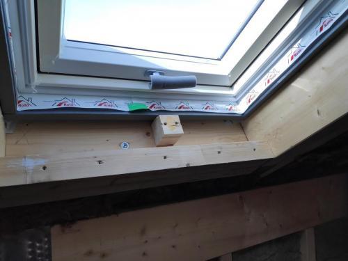 Dachfenster Konstruktion